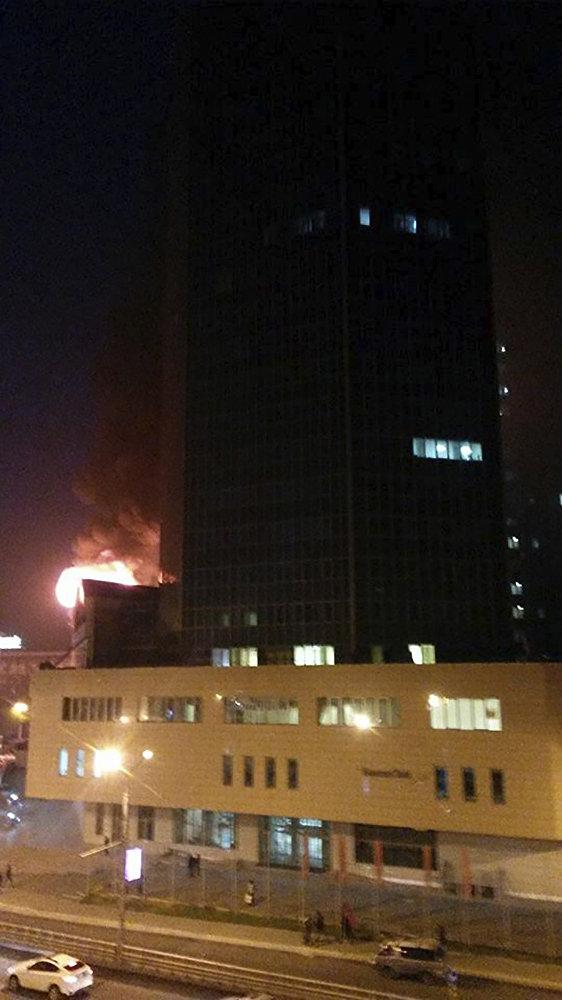 Almaty Towers ғимаратындағы өрт
