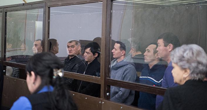 Суд над Тохтаром Тулешовым и его сообщниками