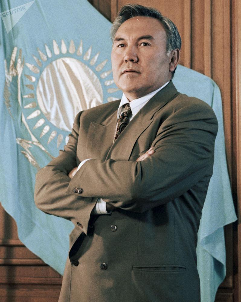 Президент Казахстана Нурсултан Назарбаев, 1994 год