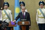 Касым-Жомарт Токаев в ходе принесения присяги президента 20 марта 2019 года