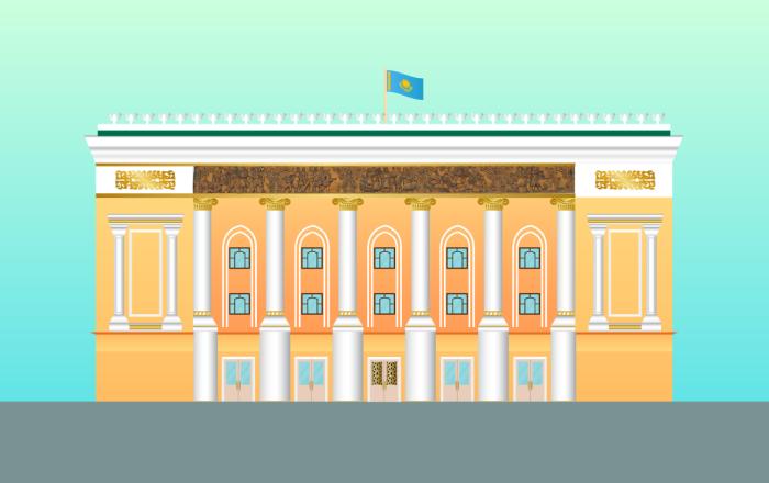 ГАТОБ им. Абая в Алматы