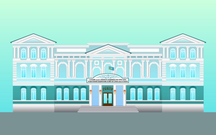 Театр драмы им. М.Горького в Нур-Султане