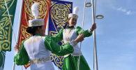 Народные гуляния в честь праздника Наурыз
