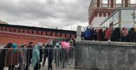 Очередь на концерт Димаша Кудайбергена в Москве