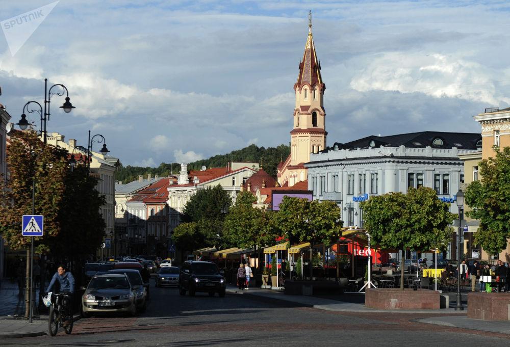 Бейбітшілік қаласы. Вильнюс