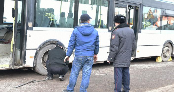 Крупная авария произошла на пересечении улицы Улы Дала и проспекта Кабанбай батыра в Нур-Султане