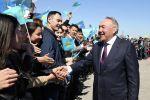 Первый президент Казахстана – Елбасы Нурсултан Назарбаев, архивное фото