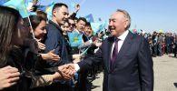 Первый президент Казахстана – Елбасы Нурсултан Назарбаев