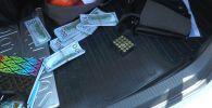 Доллары, травматический пистолет и патроны к нему перевозил в багажнике автомобиля водитель из Алматы