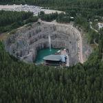 Театральная площадка Dalhalla в бывших каменоломнях, Швеция