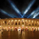 Настоящий древний амфитеатр, Италия, Арена ди Верона
