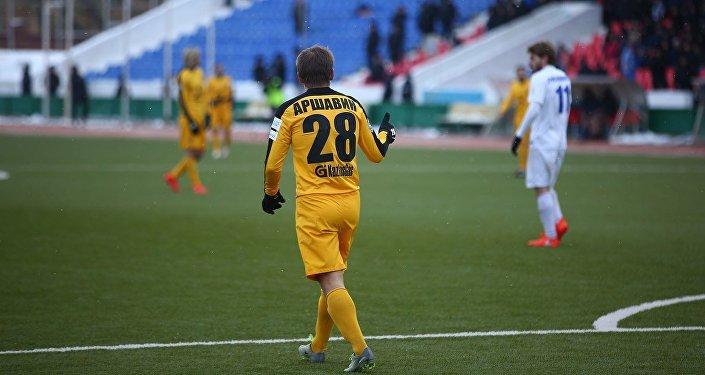 Игрок ФК Кайрат Андрей Аршавин