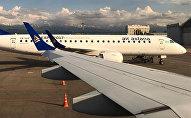 Самолет авиакомпании Эйр Астана