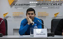 Участник команды Спарта Олжас Рымбаев