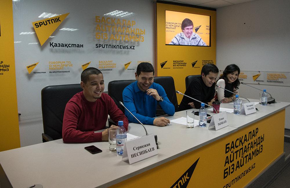 Команда КВН Спарта в гостях у Спутник Казахстан