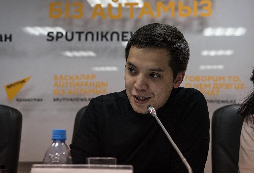 Участник команды Спарта  Бауыржан Омаров