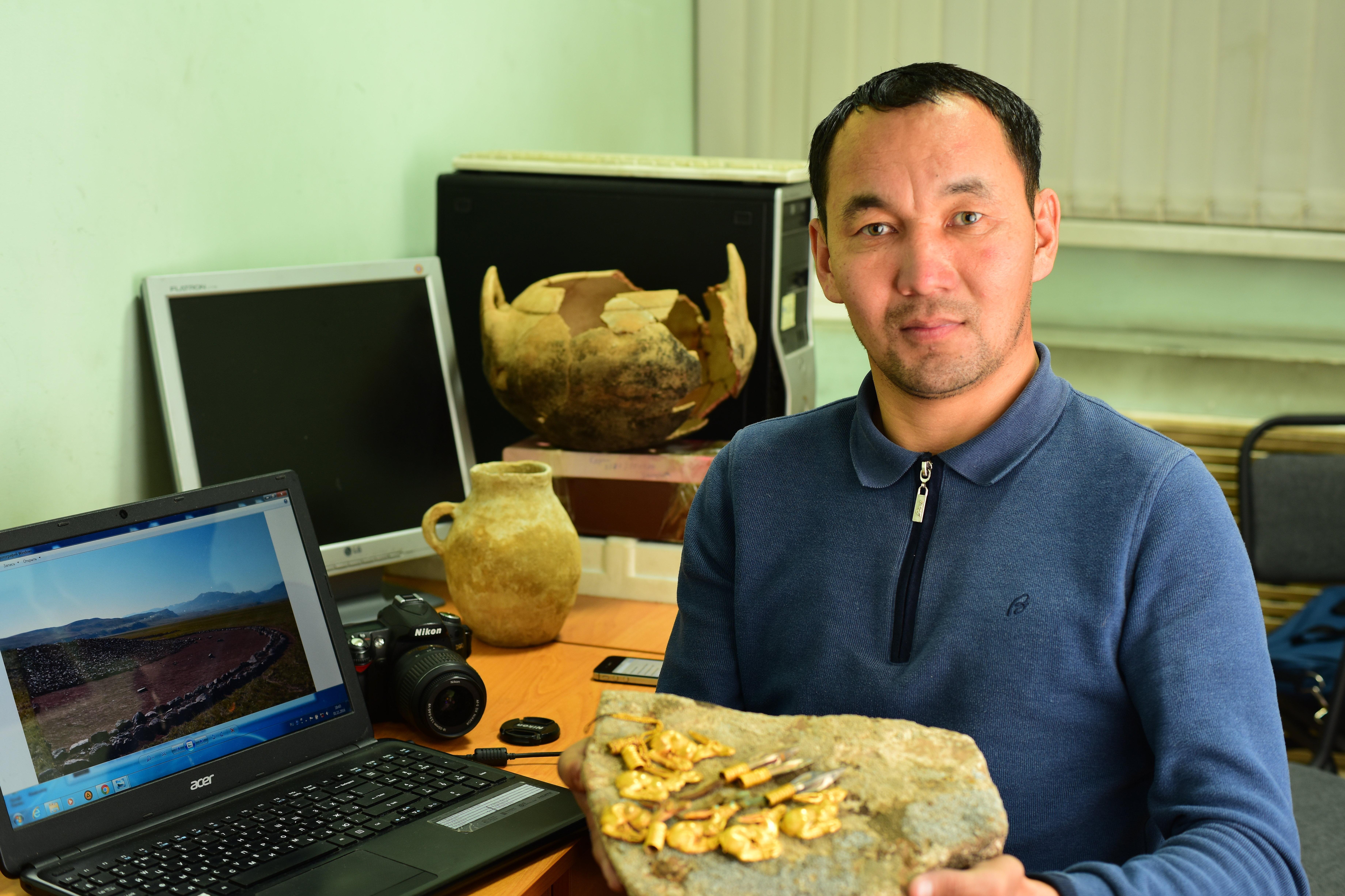 Ерден Оралбай раскопки