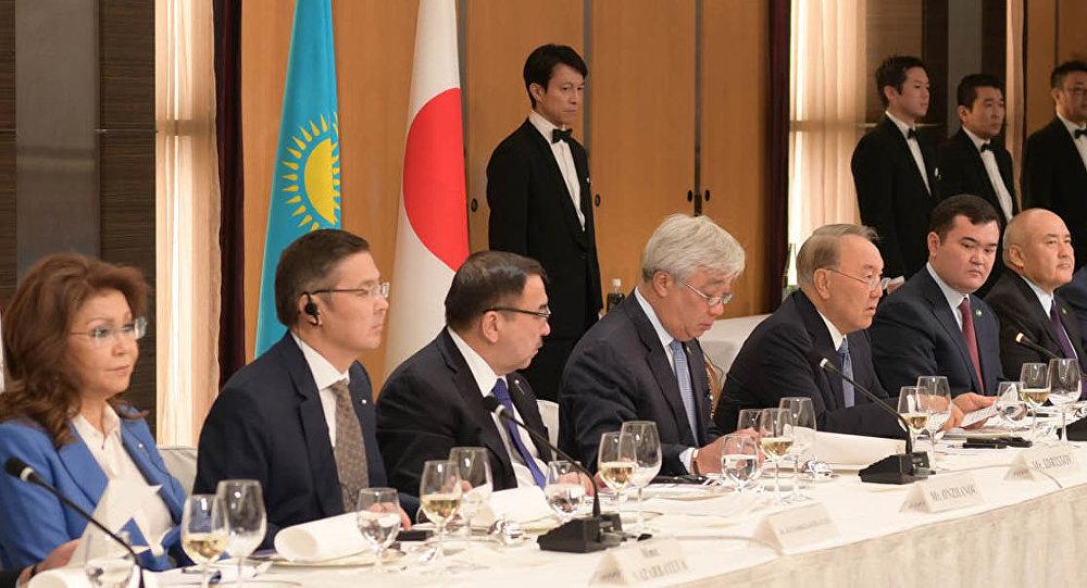 Нурсултан Назарбаев на встрече с представителями деловых кругов Японии