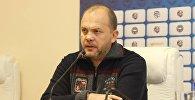 Бывший генеральный директор футбольного клуба Актобе Дмитрий Васильев
