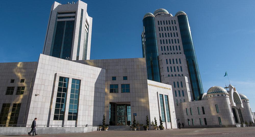 Архивное фото парламента Казахстана
