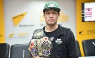 Казахстанский боец смешанных единоборств, чемпион M-1 Global Шавкат Рахмонов