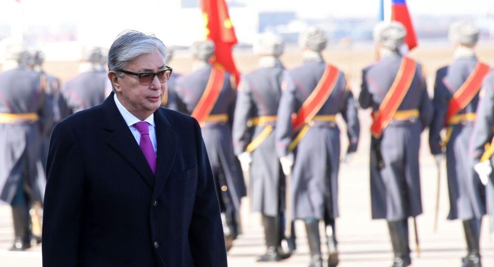 Визит президента Казахстана  Касым-Жомарта Токаева в Россию