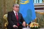 Президент Казахстана Касым-Жомарт Токаев во время встречи с президентом РФ Владимиром Путиным