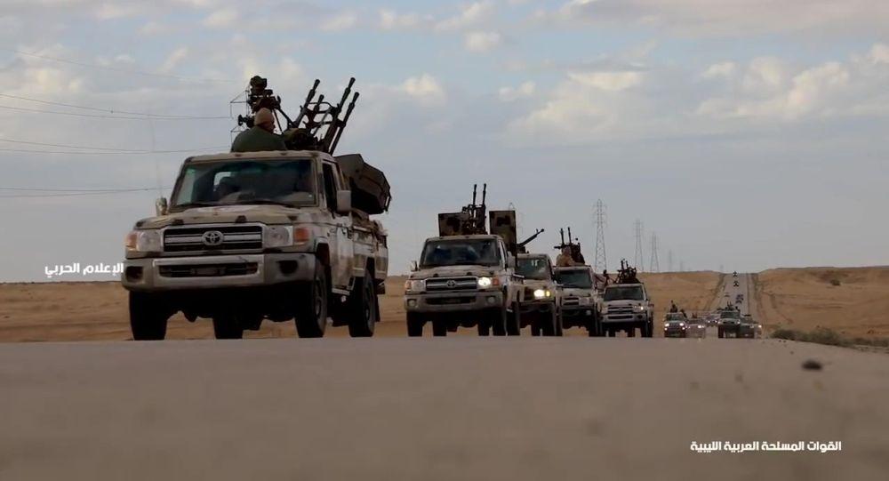 Военная техника под командованием маршала Халифы Хафтара