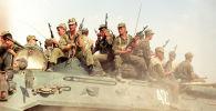 Таджикско-афганская граница, архивное фото