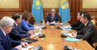 Президент Казахстана Касым-Жомарт Токаев принял Председателя Сената Парламента Даригу Назарбаеву