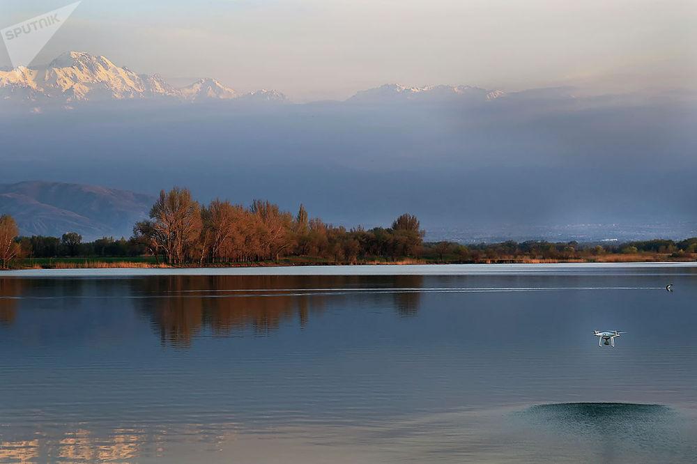 Горы близ Алматы