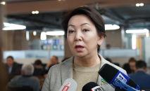 Депутат мажилиса парламента Казахстана Дания Еспаева