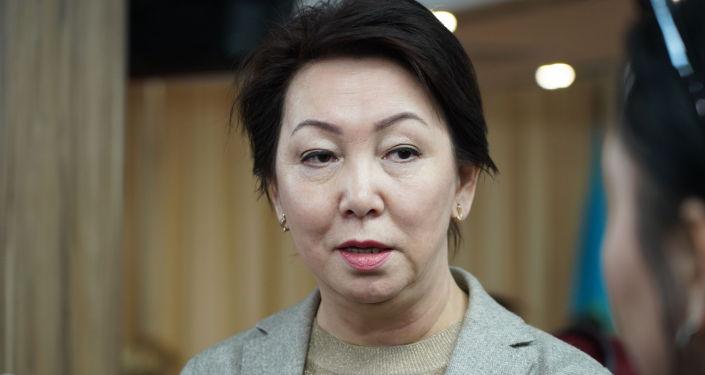 Кандидат в президенты Казахстана Дания Еспаева