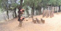 Тренировки для мальчиков в Шаолине