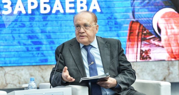 Ректор Московского государственного университета Виктор Садовничий