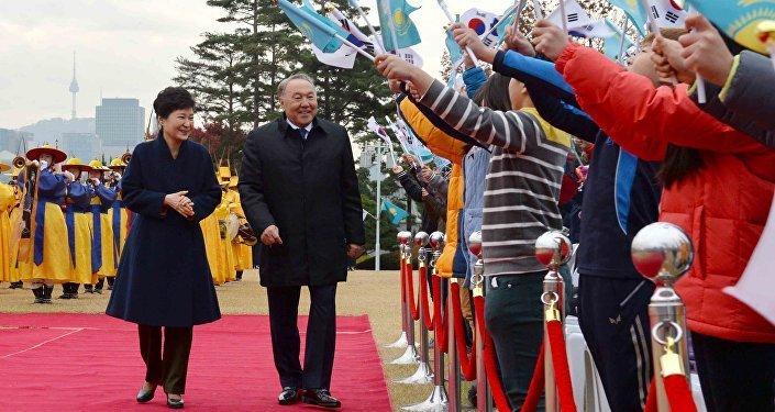 Қазақстан президентінің Оңтүстік Кореяға ресми іссапары