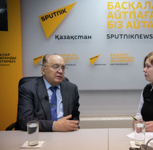 Ректор МГУ поделился со Sputnik Казахстан планами по развитию вуза - видео