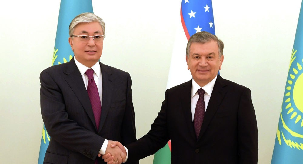 Касым-Жомарт Токаев и Шавкат Мирзиёев