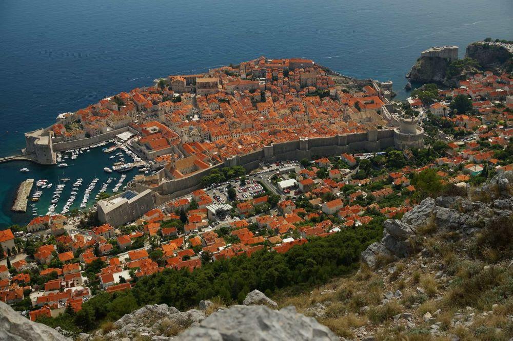Крепость Ловриенац, где снимали Красный замок Ланнистеров, находится недалеко от Дубровника, Хорватия