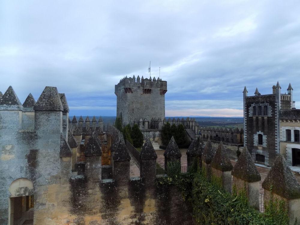 Замок Альмодовар дель Рио в Андалусии