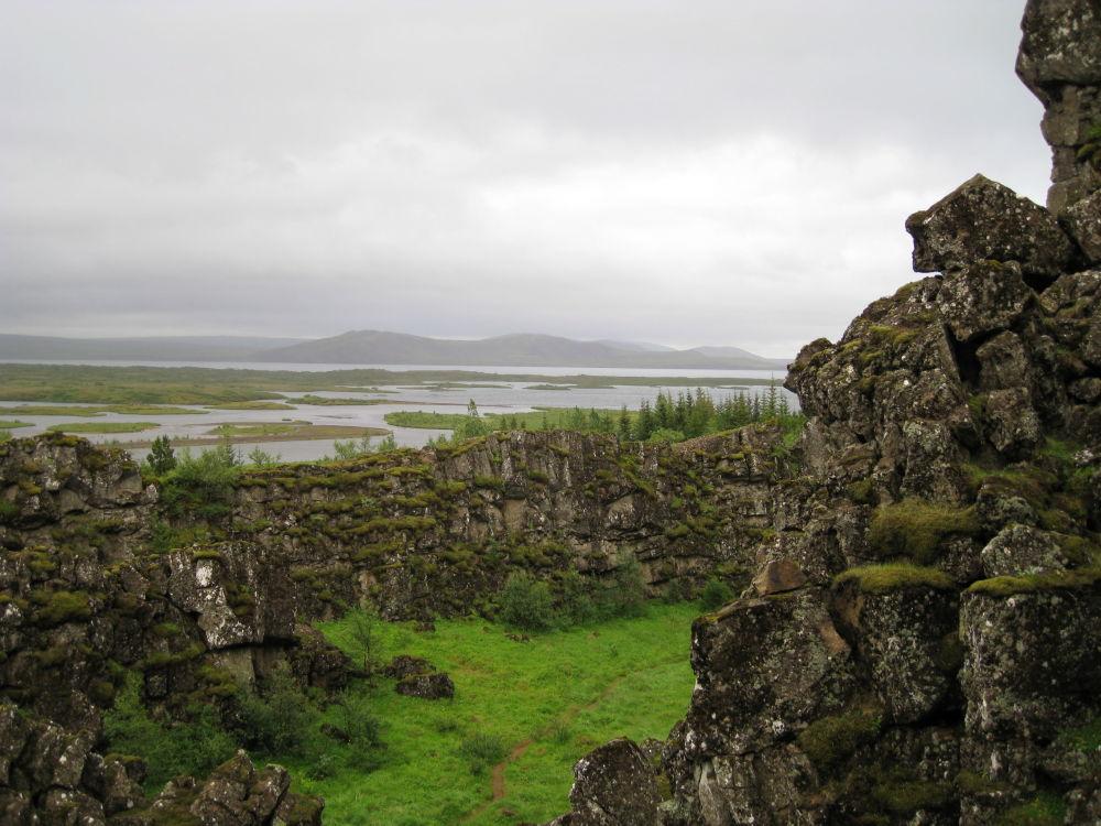 Национальный парк в долине Тингведлир, Исландия