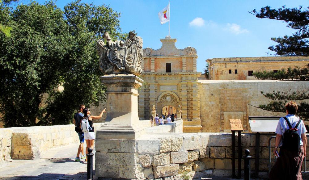 Ворота Мдины, древней столицы Мальты