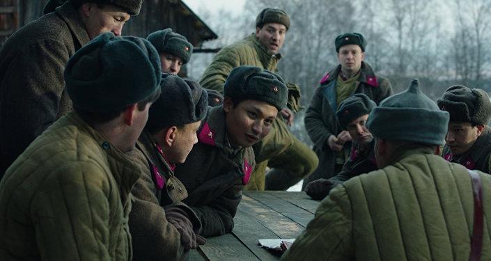 Скрин видео официального трейлера к фильму 28 панфиловцев