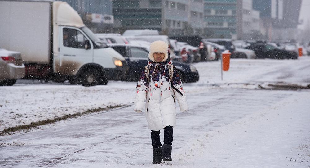 Снег и сильный ветер ожидаются 23 ноября почти во всех областях Казахстана