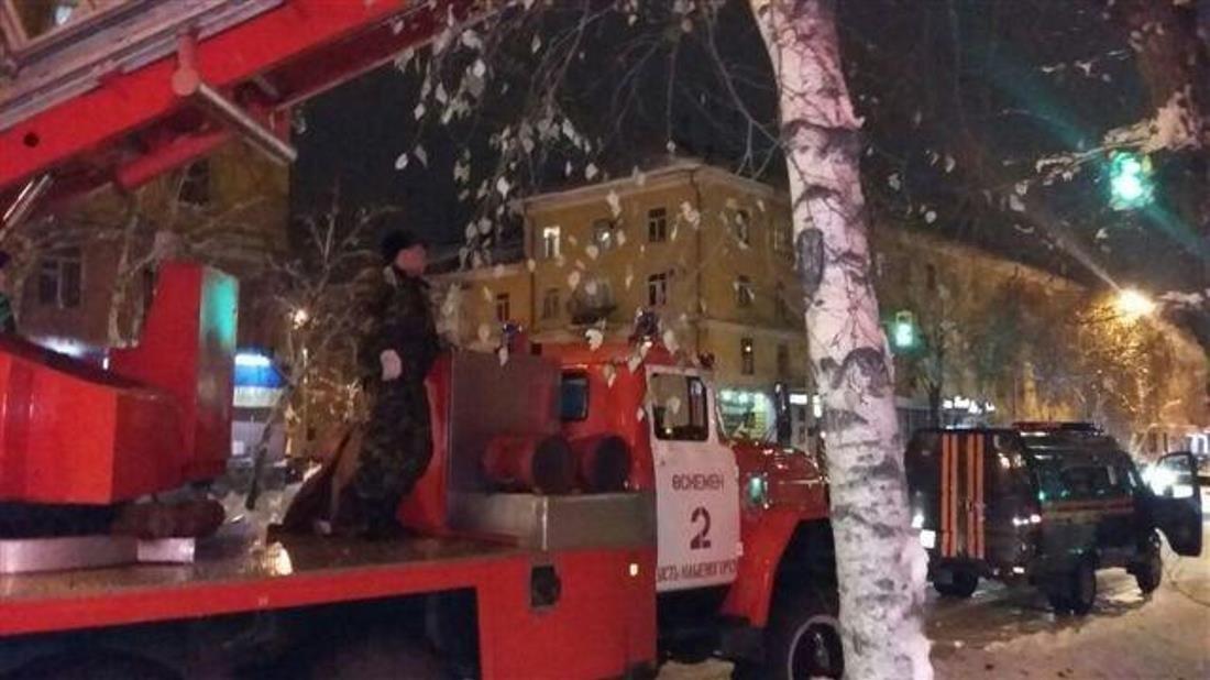 Пожарная машина в Усть-Каменогорске