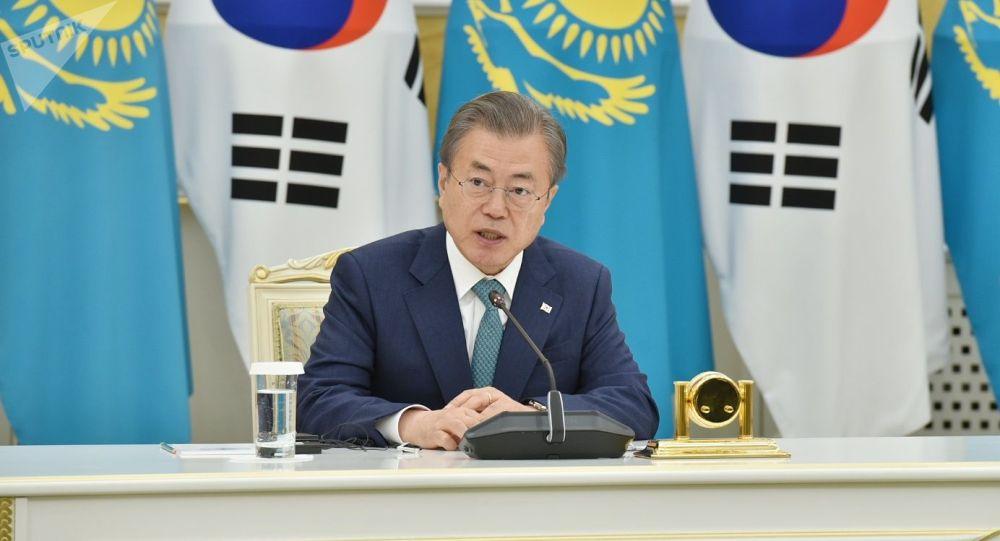 Президент Кореи Мун Чжэ Ин
