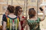 Жительницы Душанбе