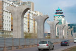 Астана LRT тіреулері