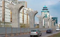 Опоры для Астана LRT