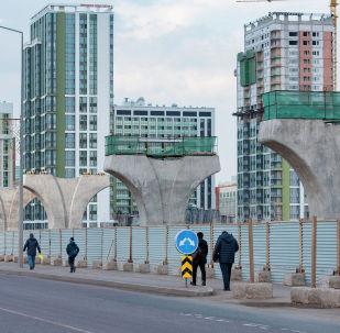 Астана LRT құрылысы, архивтегі сурет